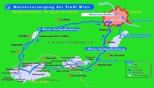Primer abastecimiento de agua en Viena
