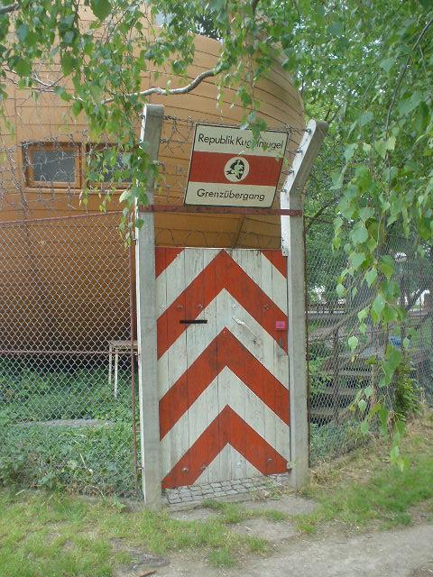 Frontera de Kugelmugel