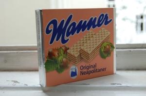 """""""Manner mag man eben"""" (""""Manner, porqué gustan"""") es el eslogan de la marca"""