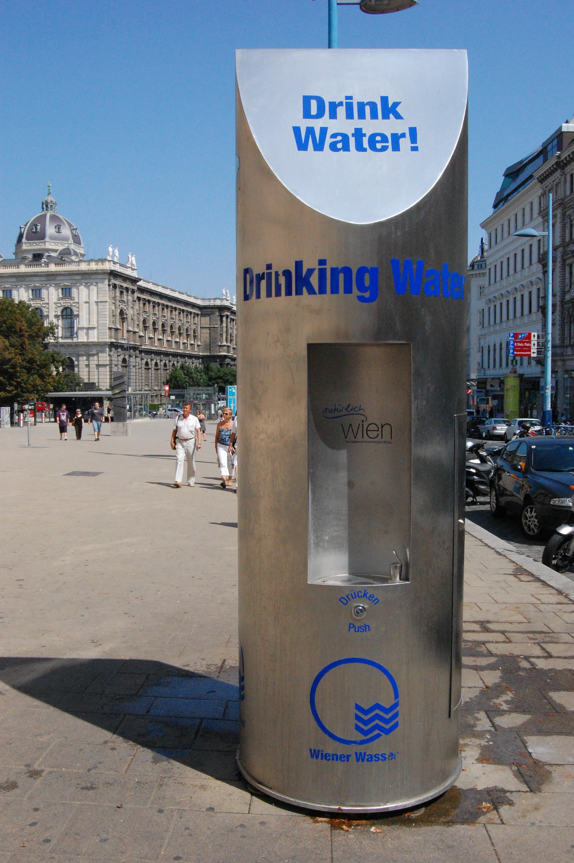 Drink water! Agua de Viena