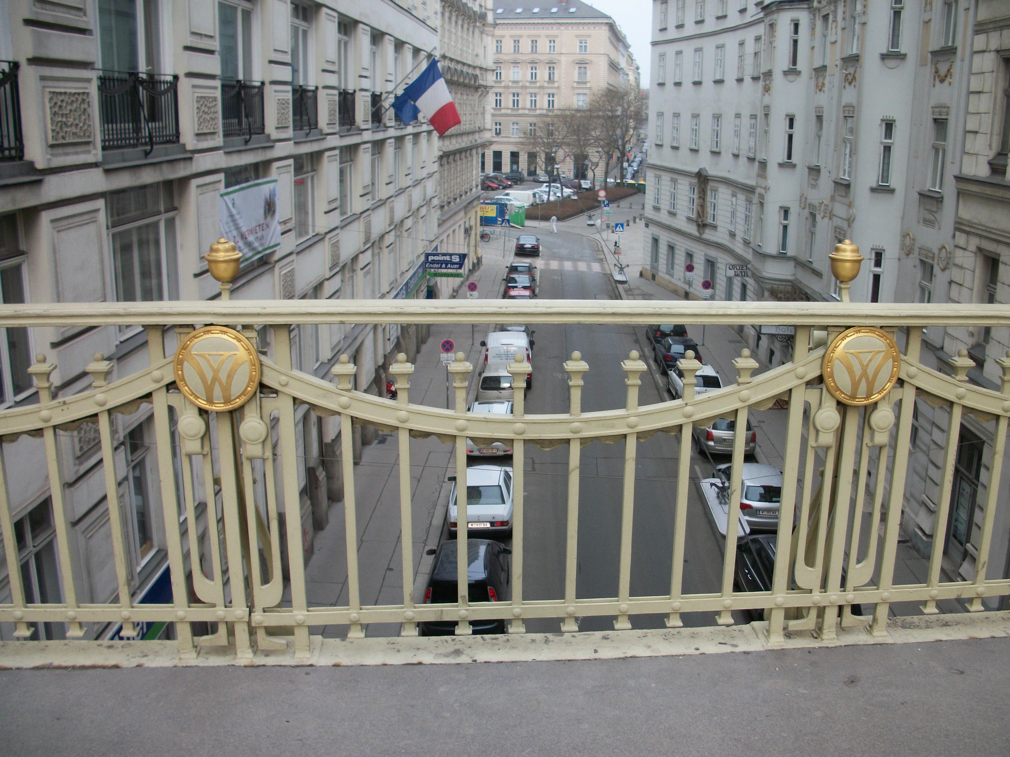 Tiefer Graben visto desde el puente
