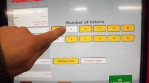 Número de tiquets