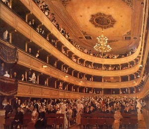 Auditorio del antiguo Burgtheater