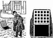 Caricatura sobre Loos