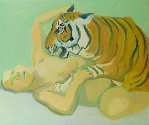 Dormir con un tigre