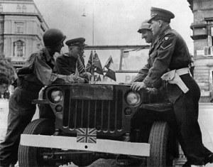 Patrulla de las 4 fuerzas aliadas en Viena (Votova)