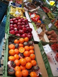 Frutas en el Brunnenmarkt