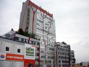 Oficinas de Spittelau (justo al lado de la incineradora)