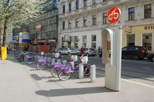 Estación de CityBike en Siebensterngasse