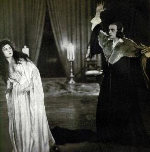 Haid en el papel de Lucrecia Borgia (1922)