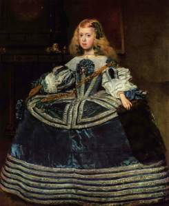 Infanta Margarita en azul, Velázquez (1659)