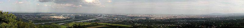 Panorama desde Kahlenberg