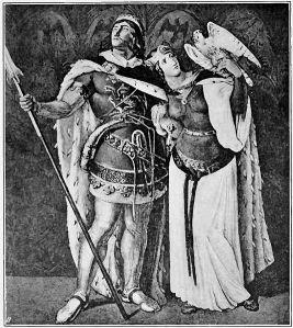 Sigfrido y Crimilda
