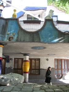 Detalle de la Hundertwasserhaus