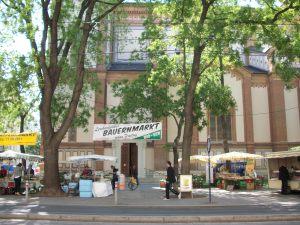 Bauernmarkt en Lerchenfelder Straße