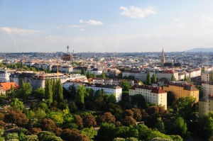 Vistas de Viena desde la noria