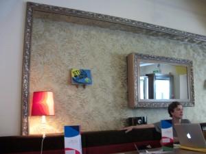 Interior del Café Rosa