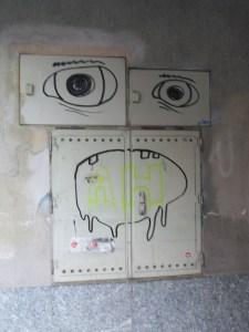 Graffiti en Gumpendorferstrasse