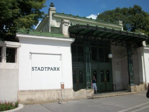 Estación de metro de Stadtpark