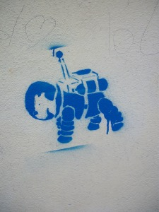 Graffiti en Burggasse