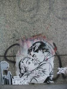 Graffiti en Mariahilferstrasse