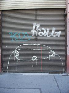 Graffiti en Neustiftgasse