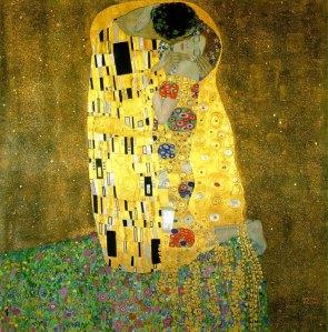 Alma Mahler es la chica de El beso