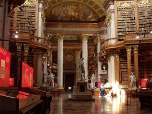 Sala principal de la biblioteca