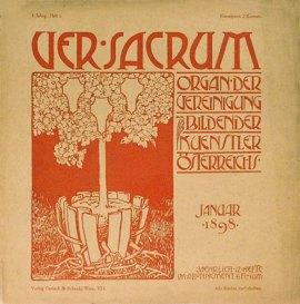 Alfred Roller portada Ver Sacrum 1898