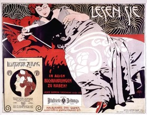 Koloman Moser poster 1900