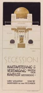 Poster 2da exposición de la Secession. Joseph Maria Olbrich (1898)