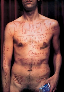 Poster de Sagmeister para la American Institute of Graphic Arts